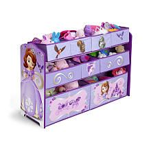 Disney Sofia The First Deluxe Multi Bin Organizer
