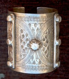 A silver bracelet . Made in Tripoli, sometime in the fifties- sixties of 20th. Century Posted by Mustafa Salem