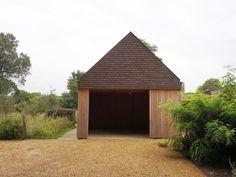 Garage • open • houten poort • Architect: Rien Rossey
