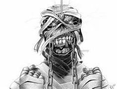 Iron Maiden Eddie Drawings