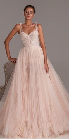 27 Peach Blush Wedding Dresses You Must See peach blush wedding dresses ball., 27 Peach Blush Wedding Dresses You Must See peach blush wedding dresses ball gown sweetheart neckline simple millanova Country Wedding Dresses, Colored Wedding Dresses, Boho Wedding Dress, Boho Dress, Bridal Dresses, Wedding Bride, Blush Dresses, Wedding Gowns, Lace Wedding