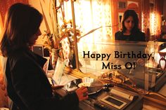 Happy Birthday Miss O!  8th Sept 12