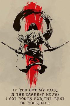 samurai Poster - i'm going to win - Silly Caucasian Girl - Quotes Hai Tattoos, Bild Tattoos, Samurai Tattoo, Samurai Quotes, Martial Arts Quotes, Arte Ninja, Samurai Artwork, Warrior Tattoos, Trash Polka