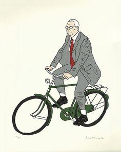 #Bicycle Silk Screen #Print