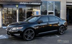 Ford Taurus SHO with Custom Wheels by CEC in Los Angeles CA . Click to view more photos and mod info.
