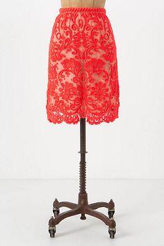 #anthropologie.com        #Skirt                    #Sunblaze #Lace #Skirt    Sunblaze Lace Skirt                                 http://www.seapai.com/product.aspx?PID=1416549