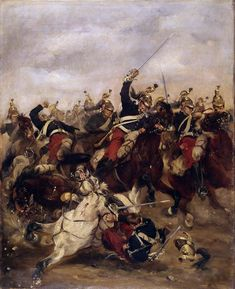 Charge of the French Dragoons, Franco-Prussian War