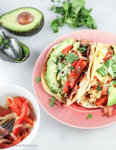 Mmmm... Texas-Style Breakfast Tacos recipe. A new way to serve bacon and eggs.  | Food Baby