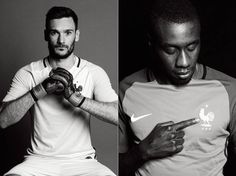 Touching Pictures of the French National Team for the Euro 2016