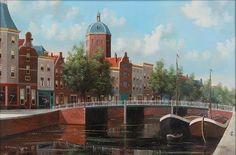 """GEORGE JAN DISPO, """"St. Nicolaas kerk Amsterdam''"""