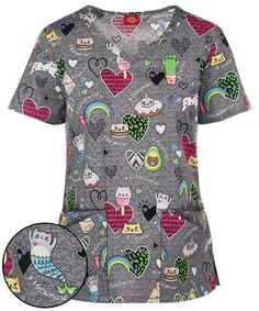 Indiana Hoosiers Scrub Top Nurse Uniform Shirt Doctor Team Medical Fan Wear