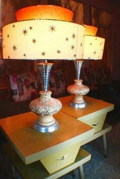 Atomic Lamps.. Im always on the look out for these