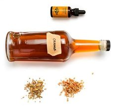 I am going to make a spin on this bitters recipe as part of a Mad Men-style cocktail. No name yet, but I'm thinking bourbon, bitters, sweet vermouth, float gran marnier with an orange twist Homemade Bitters Recipe, Homemade Liquor, Angostura Bitters Recipe, Homemade Food, How To Make Bitters, Aromatic Bitters, Cocktail Bitters, Fun Cocktails, Wine