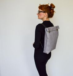 Leather Backpack / Leather Rucksack / Messenger / by byNizzo
