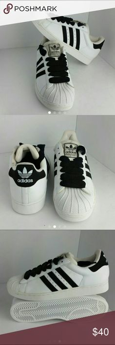ADIDAS MEN'S SHOES VERY CLEAN INSIDE-OUT   SKE # HD ADIDAS  Shoes Sneakers