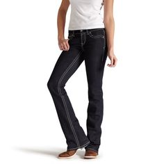 Womens Eclipse Real Riding Jean - Ariat
