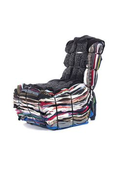 Rag Chair, 1991, by Tejo Remy