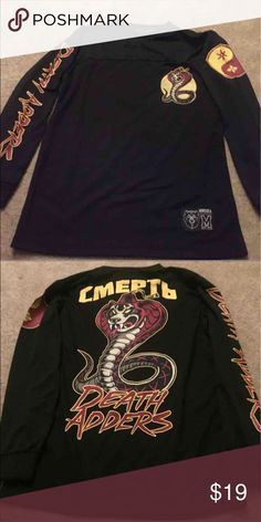Mishka jersey Brand new mishka jersey. Never worn before. Perfect condition. Size M in Men. Shirts Tees - Long Sleeve