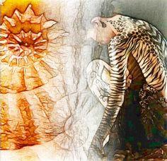 BELLA DONNA digital art - EVOLUTION BELLA DONNA digital art digital photo manipulation