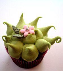 unique decorating, cupcake