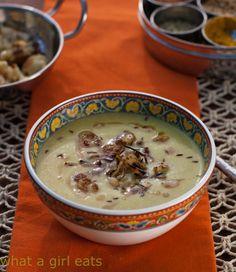 Curried Cauliflower Soup With Crispy Onions
