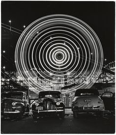 Ferris Wheel, 1949 byAndreas Feininger. ☀