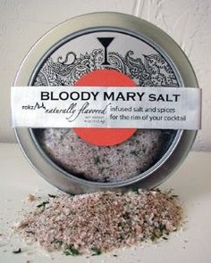 Bloody Mary Infused Salt, drink rimmer for thomas's bloody mary obsession