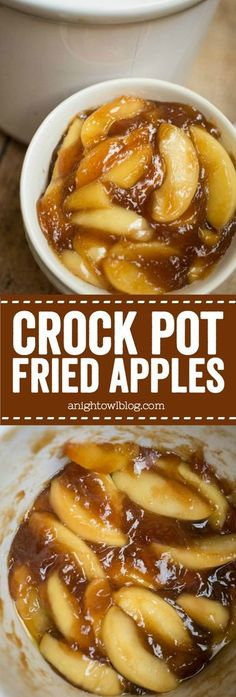 These Easy Crock Pot Fried Apples are a perfect, effortless Thanksgiving side dish or an everyday treat! You'll love how easy they are to whip up! Source by twocupsofhealth Related posts: Crock Pot Cream Corn Crock Pot Cranberry Turkey Breast Healthy Crockpot Recipes, Slow Cooker Recipes, Cooking Recipes, Crockpot Meals, Thanksgiving Recipes Crockpot, Cooking Tips, Crockpot Fried Apples, Thanksgiving Desserts, Crockpot Side Dishes