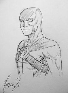 Red Robin Tim Drake Marcus To DC Comics Teen Titans Young Justice super hero Batman