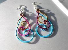 Wire earrings   best stuff