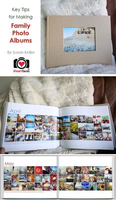 I REALLY need these Tips for Making Family Photo Books!