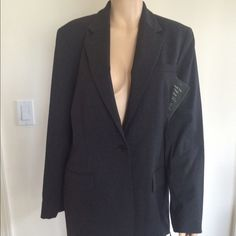 NEW Ralph Lauren Jacket 🌹 Wool business jacket.  Please view my entire closet. Most of what I have are Brand Name items listed at over 70% OFF its original price. Most of what I offer are Brand New, Never worn Items. Most items that are not new are still in great condition. You will get a great deal on any of the 400 plus items I have listed.  Thank you! Ralph Lauren Jackets & Coats Blazers