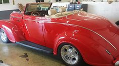 Plymouth : Other convertible 1939 plymouth deluxe Convertible Hot rod resto mod Beautiful - http://www.legendaryfind.com/carsforsale/plymouth-other-convertible-1939-plymouth-deluxe-convertible-hot-rod-resto-mod-beautiful-2/