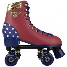 Roller Derby, Roller Skate Wheels, Retro Roller Skates, Quad Roller Skates, Roller Skating, Rollers, Cute Spiral Notebooks, Skater Girls, Wonder Woman