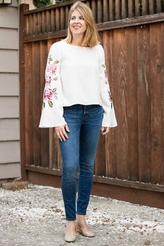 embroidered blouse stitch fix