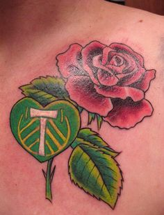 Connie Wallace's Portland Timbers tattoo. #RCTID