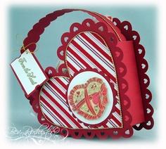 Heart shaped basket tutorial