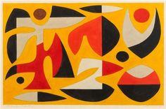 John Coburn, Study for Tapestry, 1968