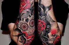 rose tattoos for men