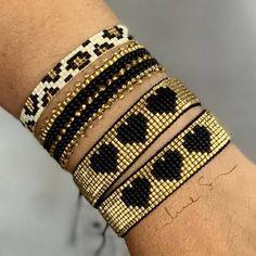 loom beading for beginners Loom Bracelet Patterns, Bead Loom Bracelets, Bead Loom Patterns, Woven Bracelets, Jewelry Patterns, Handmade Bracelets, Beading Patterns, Jewelry Bracelets, Seed Bead Jewelry