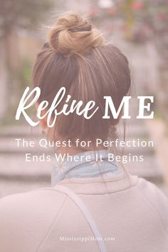 Are you a perfectionist? Always striving to do better, to be better? Let this truth soothe your perfectionist soul: The quest for perfection begins and ends with Christ. Rest in him today. Christian Girls, Christian Marriage, Christian Living, Christian Faith, Bible Verses For Women, Overwhelmed Mom, Spiritual Formation, Spiritual Disciplines, Love Your Family