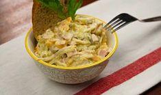 Vlašský salát II Guacamole, Grains, Spaghetti, Rice, Chicken, Meat, Ethnic Recipes, Food, Essen