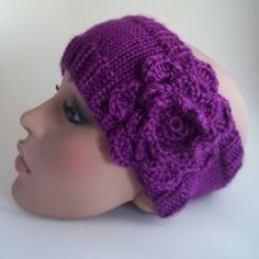 Free knitting pattern for a headband as worn by Whitney Port.