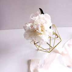 The Orb | Beautiful, Delicate, + the perfect modern vase / centerpiece.