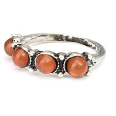 Yoins Vintage Style Bronze Carved Stone Rings Pack ($10) ❤ liked on Polyvore featuring jewelry, layered jewelry, vintage style jewelry, stone jewellery, carved jewelry and stone jewelry