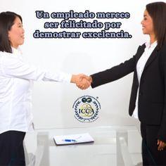 El Coaching se debe aplicar cuando:  ■ Cuando un empleado de cualquier área merece ser felicitado por la ejecución ejemplar de alguna destreza demostrando excelencia.  #Coaching