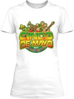 Cinco De Mayo   Mexican Celebration Tee White Women's T-Shirt Front