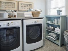 This is the Best Laundry Room Ideas On a Budget we ever seen. DIY Laundry Room Remodel Ideas for Organization, Storage, Small, Unique, and Narrow Basement Laundry Room, Trendy Bathroom, Best Washer Dryer, Bathroom Storage, Laundry Room Storage, Laundry, Room Storage Diy, Vintage Laundry Room, Dryer
