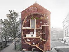 Skinny micro-housing
