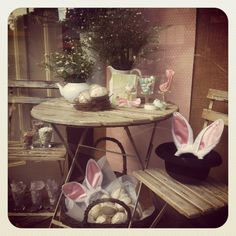 Easter Window at Haw